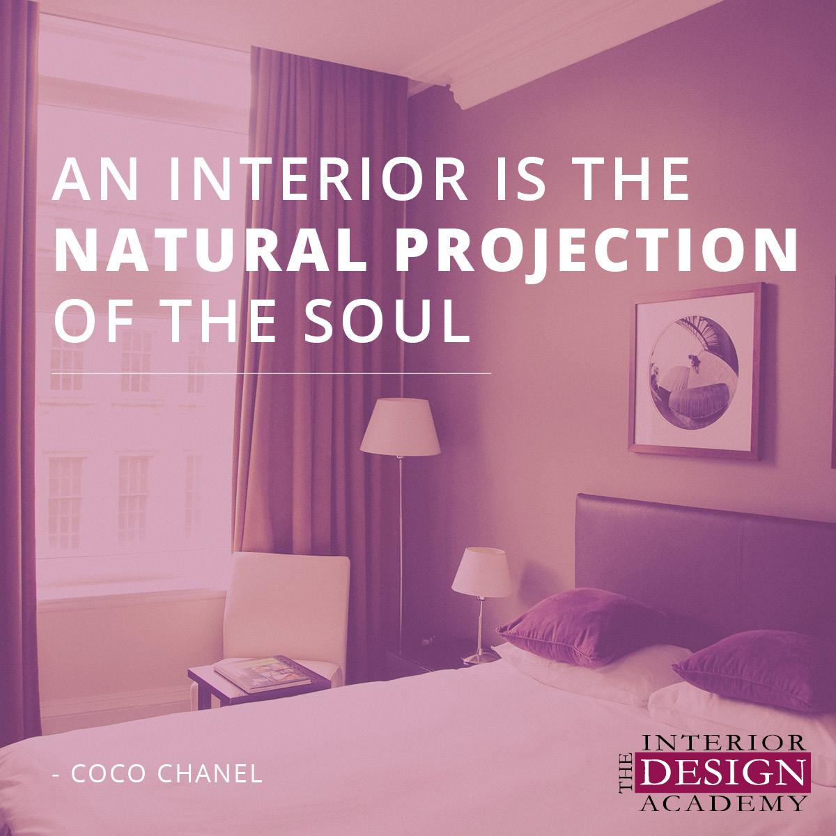 the interior design academy interior quotes