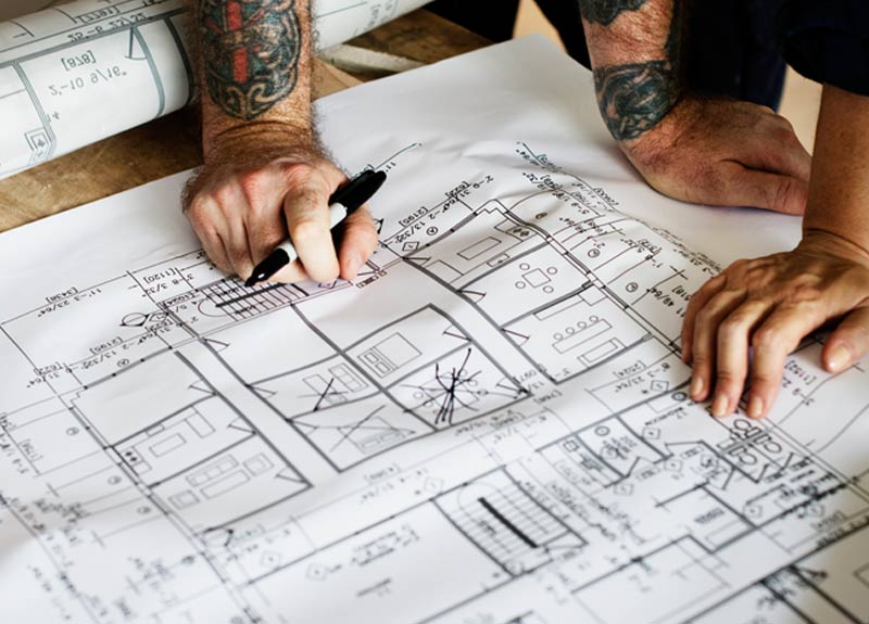Bring your vision to life, creating floor plans and scale drawings